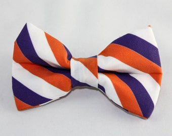"Dog Bow Tie ""The Go Clemson Tigers!"""