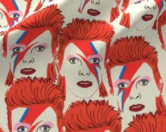 David Bowie Waterproof Picnic Throw Blanket Rug Glam Rocker