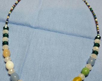 Multi color jewelry set