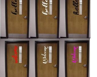More colors. Classroom Door Decor & Classroom door decor | Etsy