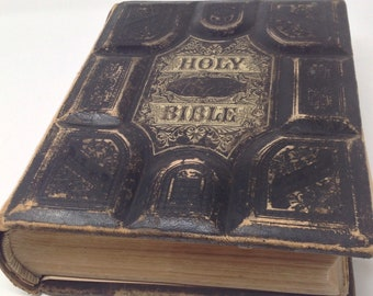1879 John S Brown Canadian Family Bible 2200 graphic plates