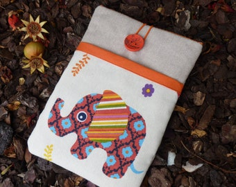 Elephants, Kindle paperwhite case, Kindle Voyage cover, Kobo Glo HD case, Kobo Touch case, Kindle paperwhite, NOOK GlowLight Plus - SALE