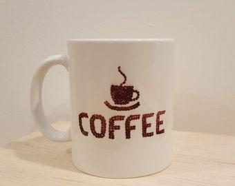 Coffee Beans | Handpainted Mug