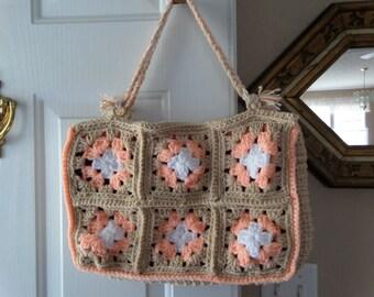 Crocheted Granny Purse and Coin Purse