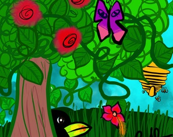 Jungle digital art