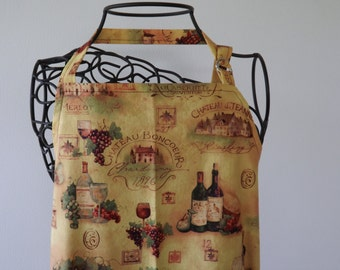 BBQ Apron, Adult, Wine Country