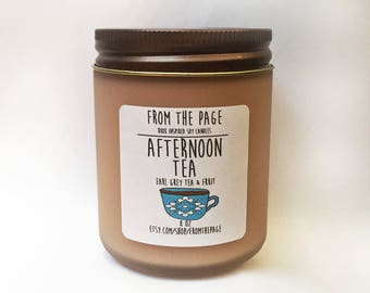 Afternoon Tea - 8 oz - soy candle