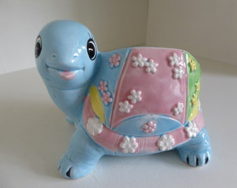 Inarco kitsch Turtle planter CB-2079 Japan