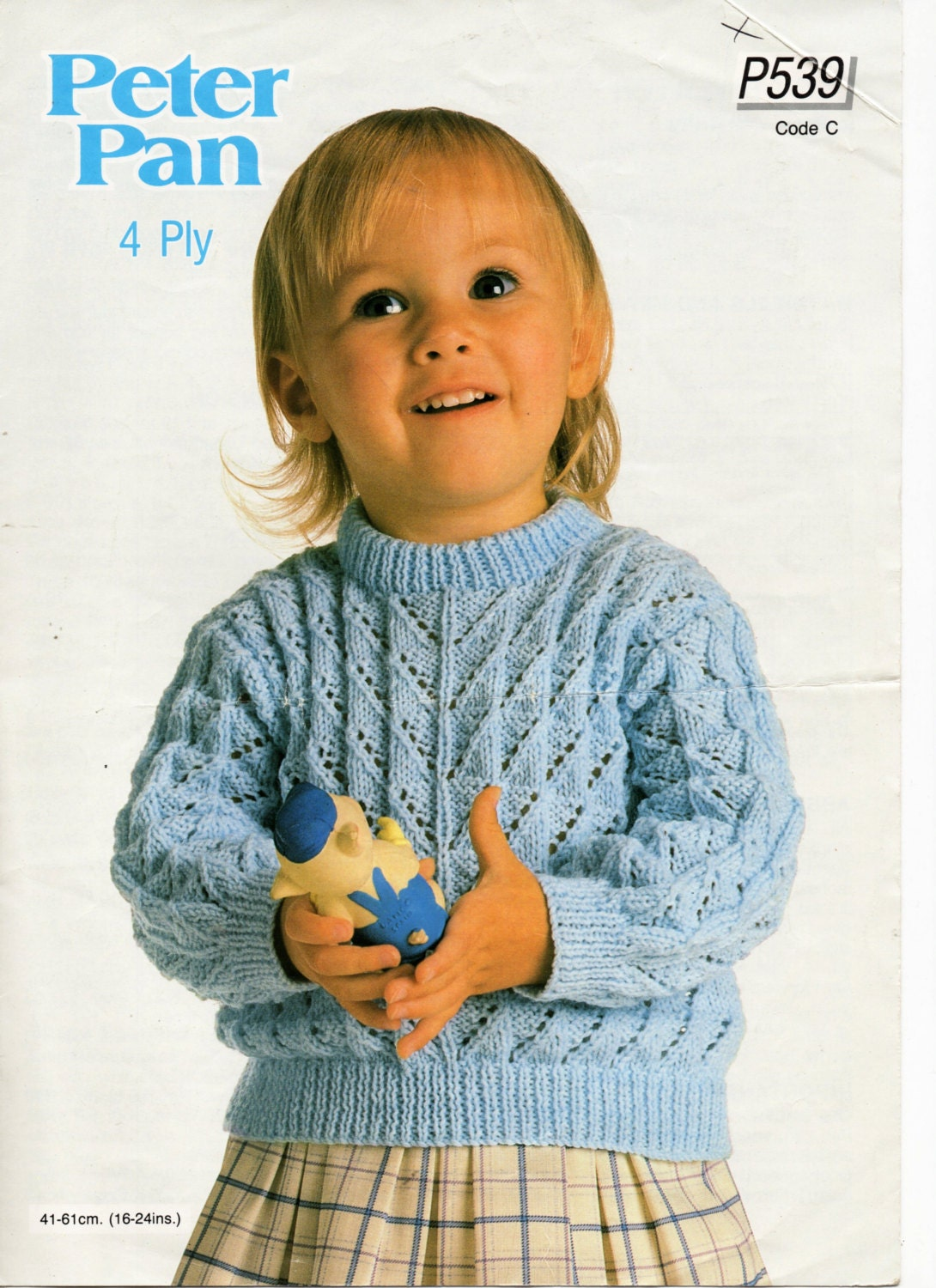baby sweater knitting pattern lacy sweater toddler jumper round neck ...