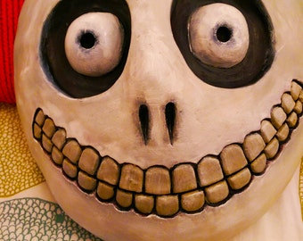 "Nightmare before Christmas ""Barrel"" Mask - fully wearable!"