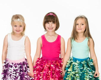 Girl's Petal Party Skirt