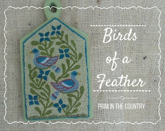 Birds Of A Feather Punch Needle Pattern