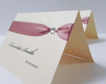 Tresana Place Cards, Wedding Name Cards, Wedding Place Cards, Luxury Place Cards, Name Cards, Place Setting, Place Names, Party Place Cards