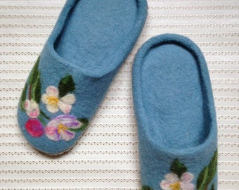HANDMADE WOOL SHOES - Felted slippers
