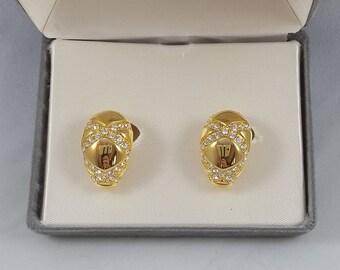 Nolan Miller Vintage clip on earrings