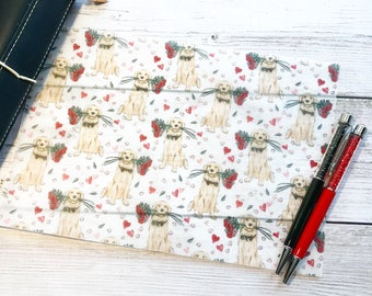 Puppy Love Vellum Sheet - Roses are Red Collection