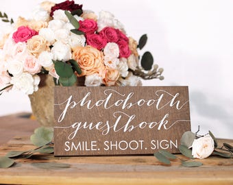 Photo Booth Guest Book Sign, Photobooth Guest book, Photo Guest book sign, Wedding Photo Guestbook Sign, Photo Guest book Sign Wedding