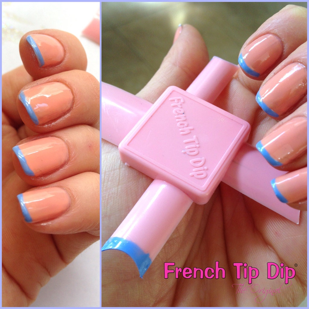 2 Pack French Tip Dip Instant French Manicure & Pedicure Kits! Use ...