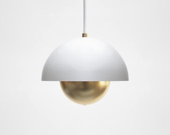 Modern pendant light mid century pendant light minimal modern pendant light mid century pendant light minimal pendant lamp brass pendant light aloadofball Choice Image