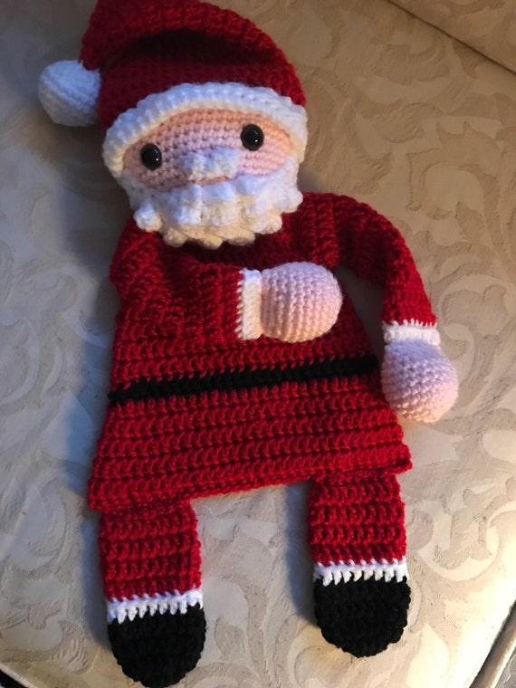 Santa Claus Rag Doll Toy/Lovey