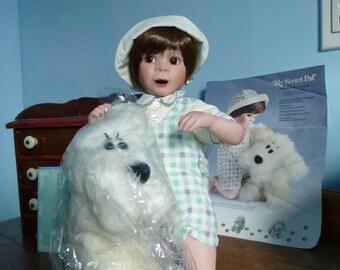 My Secret Pal porcelain Doll