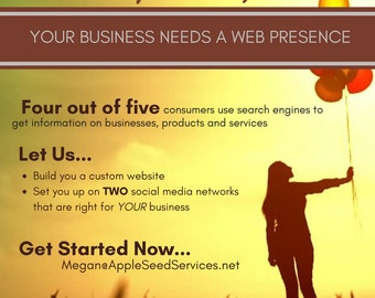 Launching Special! Website & Social Media Set-Up! New Year = New Goals!