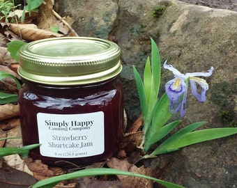 Strawberry Shortcake Jam