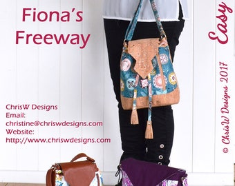 Fiona's Freeway Sew & Sell Bag Sewing Pattern by ChrisW Designs - From the  Easy Street Range