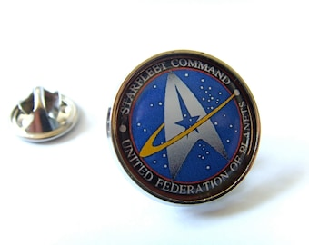 Star Trek Starfleet Command Lapel Pin Badge