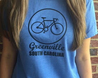 Greenville SC Bike Tshirt