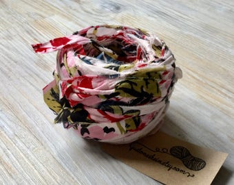 Recycled Old Shirt Yarn - 100% cotton - approx 60g/45m