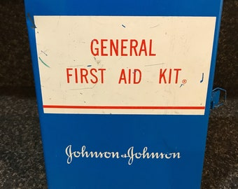 Vintage Johnson & Johnson First Aid Kit