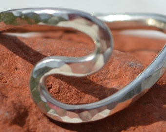 Silver S Ring