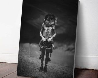 Native American Indian Canvas Print, Tobadzischini ca. 1904, Indigenous Americans, American Indian, indigenous people, NA32C
