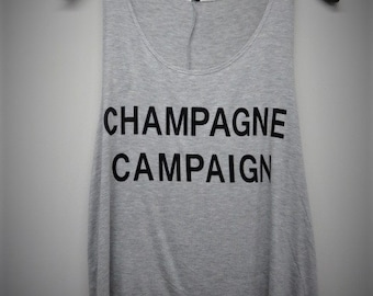 Champagne Campaign Womens Tank Top