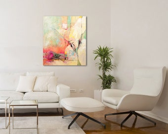 Abstract Canvas Art, Modern Art Painting, Abstract Acrylic Art, Original Art Painting, Landscape Canvas painting, Abstract Painting Original