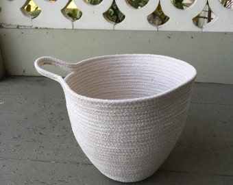 Hanging Coiled Basket