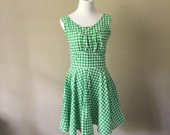 1950s Cut-out dress