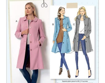 Coat by B6385 Butterick sewing pattern
