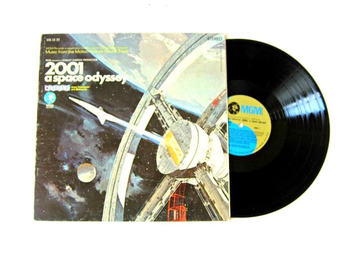 2001 a Space Odyssey Movie Soundtrack Vinyl Record Album 12 Inch LP Vintage MGM Record Album
