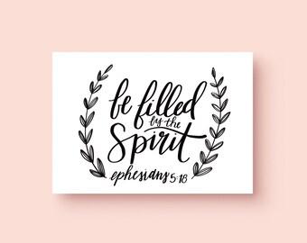 Ephesians 5:18 Print   Bible Verse Print