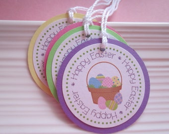 Easter gift / favor tags / set of 8