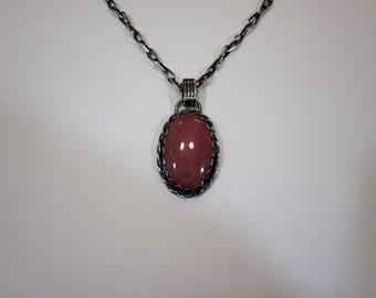 Bella's Rhodonite Necklace