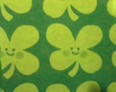 Happy Shamrocks paper mache St. Patrick's Day Coasters