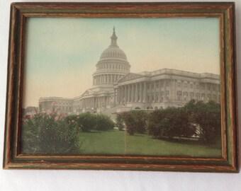 Royal H Carlock Photograph of the White House Washington D.C.