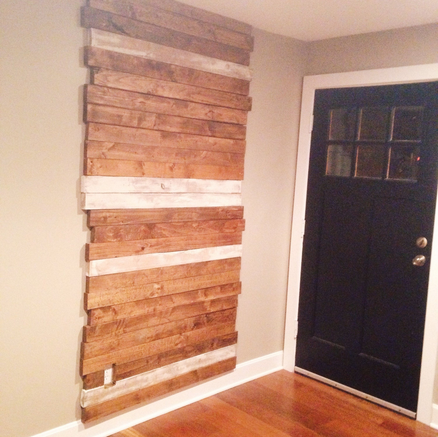 1970 Rustic Wood Accent Wall: Rustic Wood Wall Reclaimed Accent Wall
