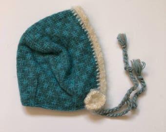 1950's Wool Baby Bonnet (6/12 months)