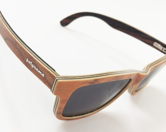 Polyrama Cork Wood Polarized Sunglasses