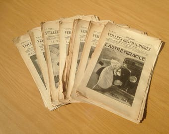 Old magazine Firesides cottages 78 numbers 59th year 1935 1936