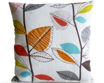 "Orange 4 CHOICES Mix Match Designer Pillow Orange Cushion Cover Accent Slip Scatter ONE 16"" (40cm) ONE x 16"" (40cm)"